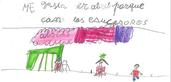 carta Sara El Caserio Aldeas Infantiles