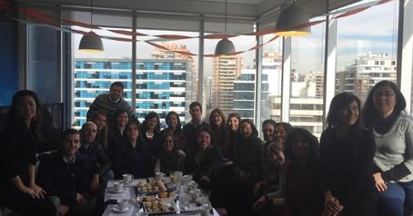 presentacion informe voluntariado corporativo 15 Chile