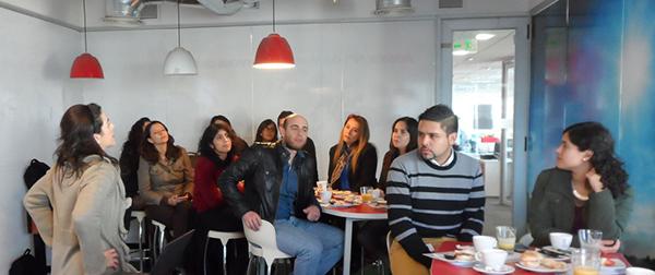presentacion informe voluntariado corporativo Chile