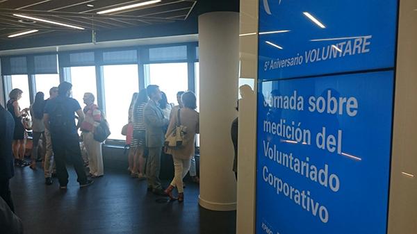 inicio aniversario voluntare medicion voluntariado corporativo
