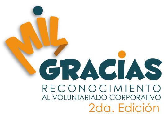 Mil Gracias reconocimiento voluntariado corporativo Ecuador