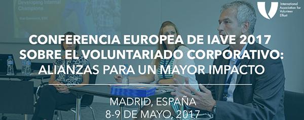 conferencia europea voluntariado corporativo iave telefonica voluntare