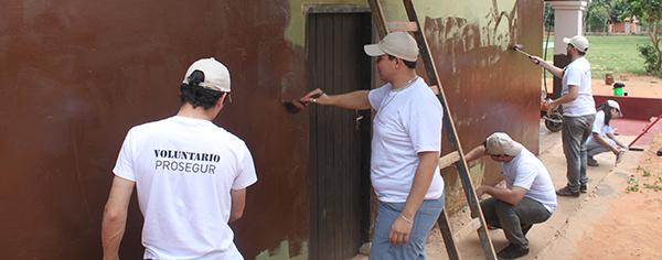 Voluntariado Prosegur Escuela San Ramon Paraguay