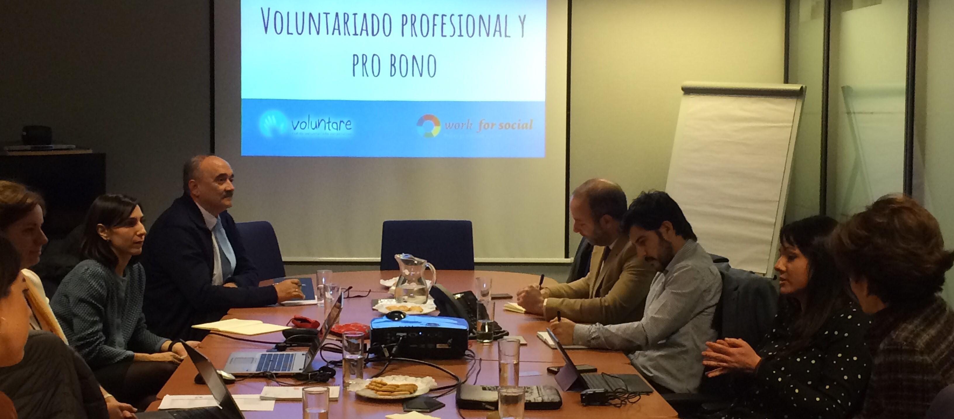 arranque grupo voluntare pro bono madrid