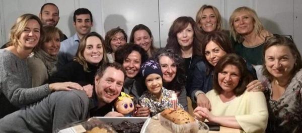 voluntarios SAP baby pelones juegaterapia