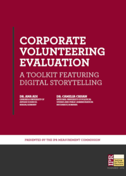 corporate volunteering evaluation storytelling toolkit