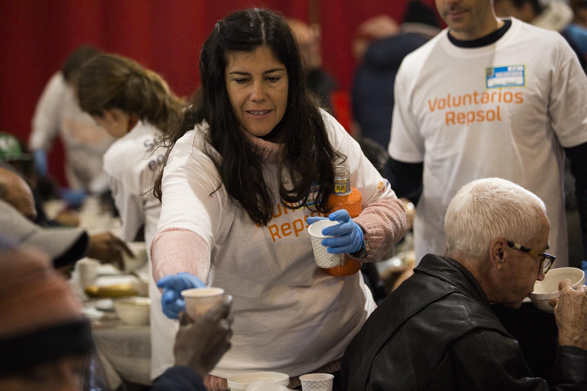 Semana Internacional Voluntariado Repsol Mensajeros Paz