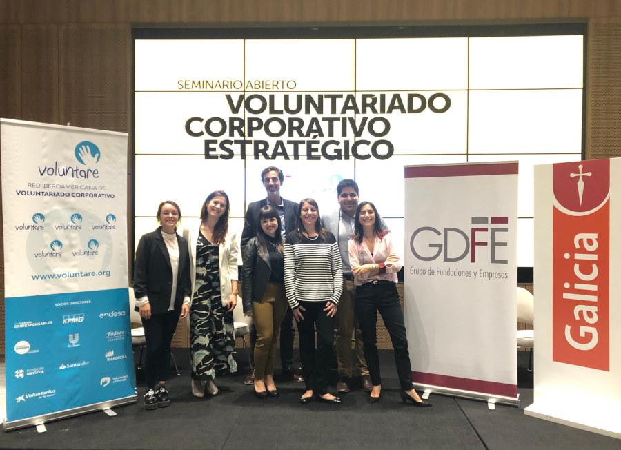 voluntariado estrategico buenos aires organizadores Voluntare GdFE Banco Galicia
