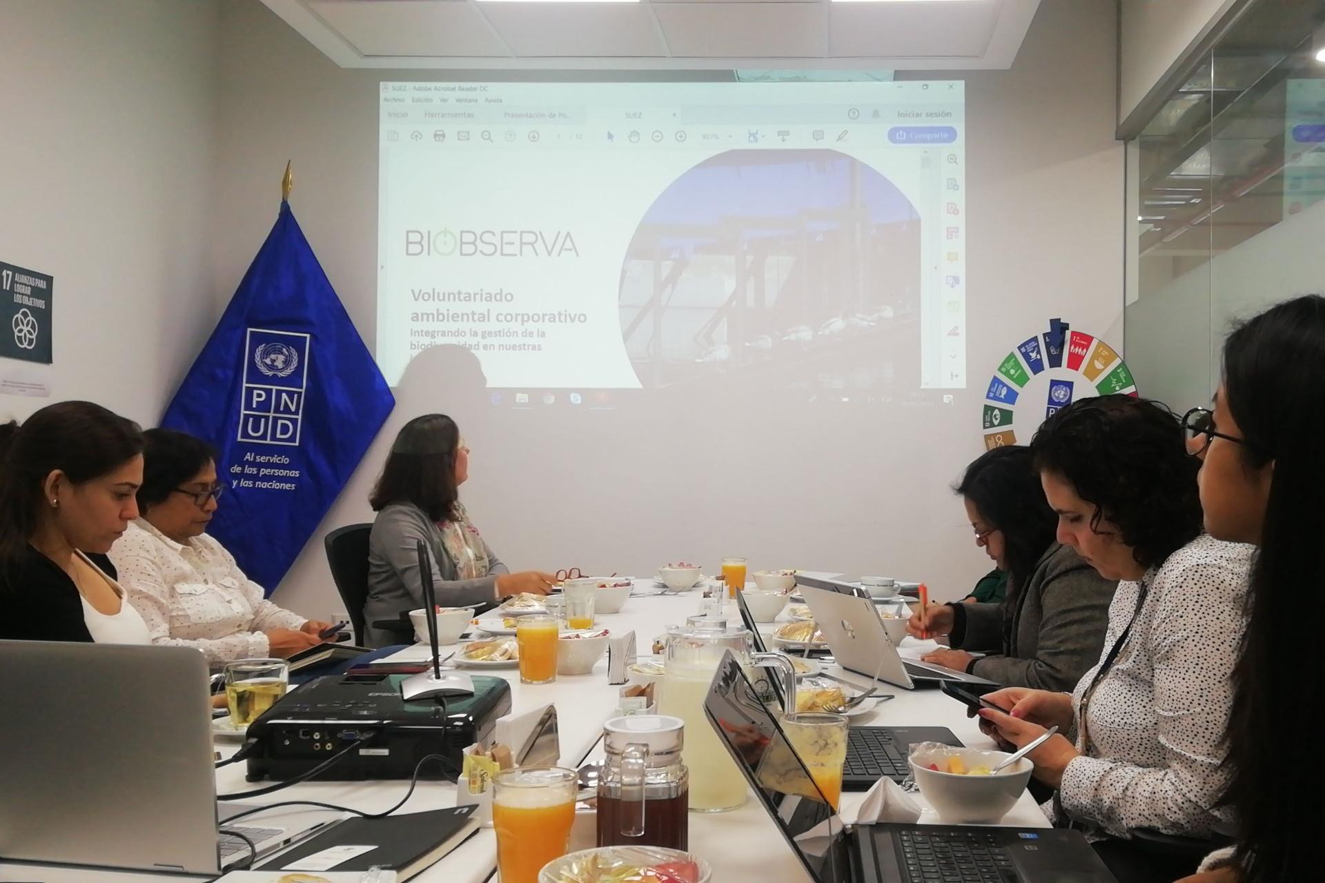 Voluntariado corporativo climatico - Empresas que inspiran- Peru