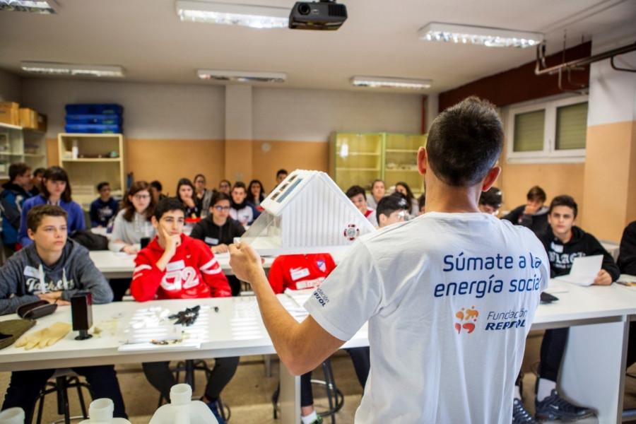 Energia con conciencia - Fundacion Repsol - Voluntariado corporativo climatico - Empresas que inspiran- Peru