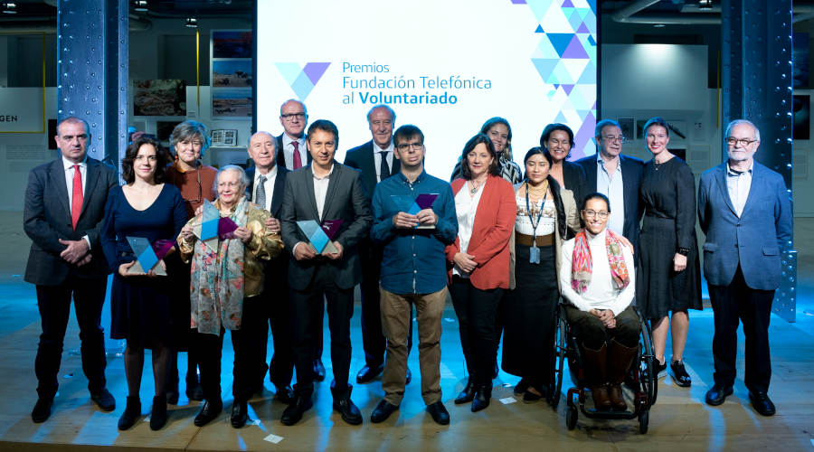 Premios Voluntariado Fundacion Telefonica 2018