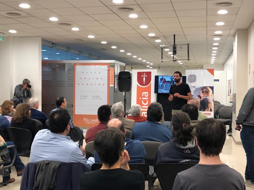 Banco Galicia Meet Up Solidarios Abanderados 2019