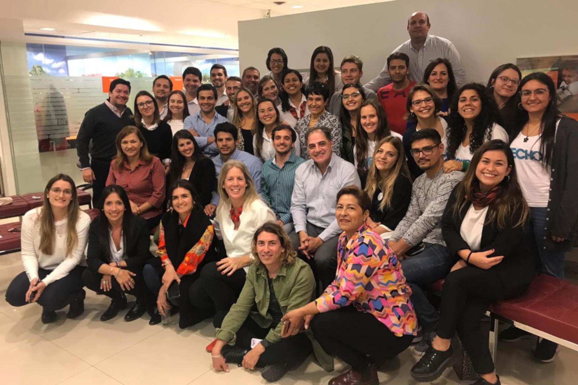 Banco Galicia Meet Up Solidario Abanderados 2019