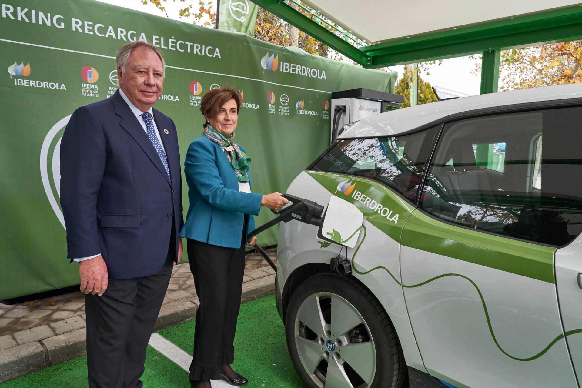 movilidad_electrica_parque_recarga_IFEMA_Iberdrola_alianza_sostenibilidad