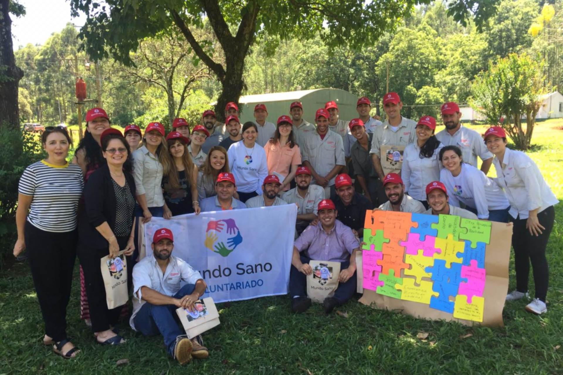 voluntariado corporativo mundo sano pomeras maderas grupo insud