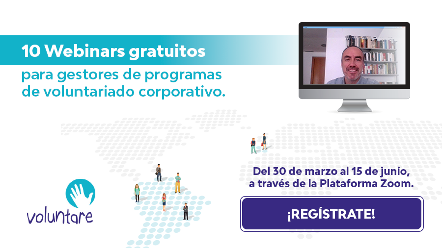 coronavirus webinars gestores voluntariado corporativo voluntare