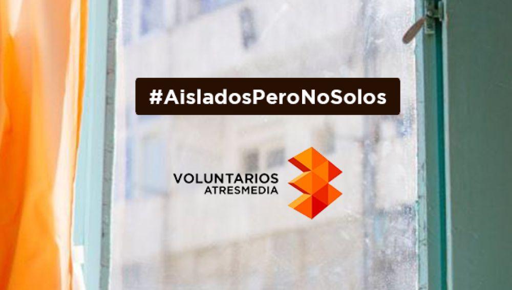 voluntarios a tres media aislados pero no solos covid 19