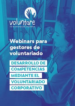 video webinar desarrollo competencias voluntariado corporativo voluntare