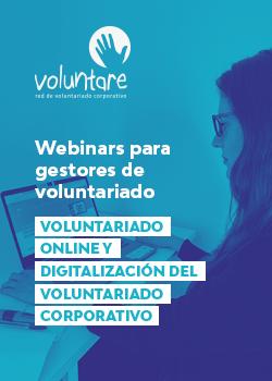 6 webinar voluntare gestores voluntariado corporativo online digitalización
