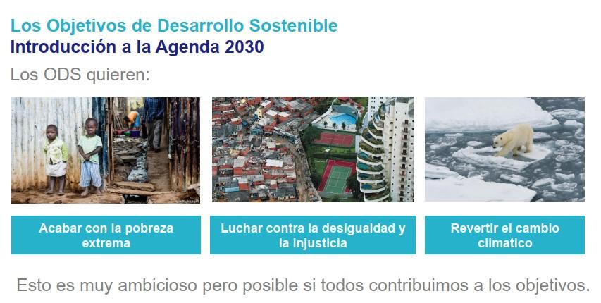 ODS 2030 agenda