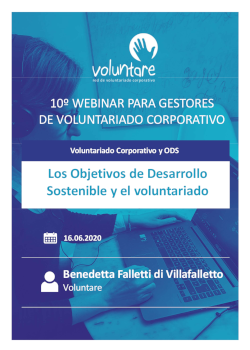webinar voluntare ods y voluntariado corporativo falletti