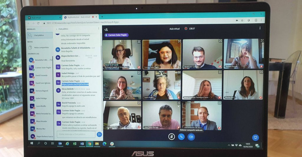 forum organizaciones saludables online junio 2020 voluntare iberdrola voluntariado corporativo personas