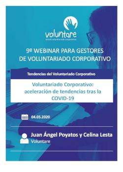 webinar voluntare gestores voluntariado corporativo tendencias covid 19