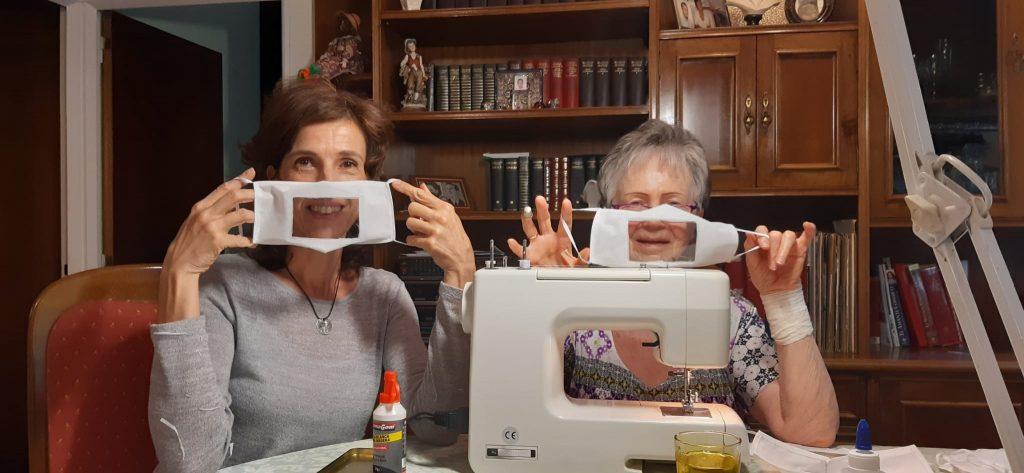 voluntarios atresmedia mascarillas transparentes accesibles voluntariado corporativo coronavirus