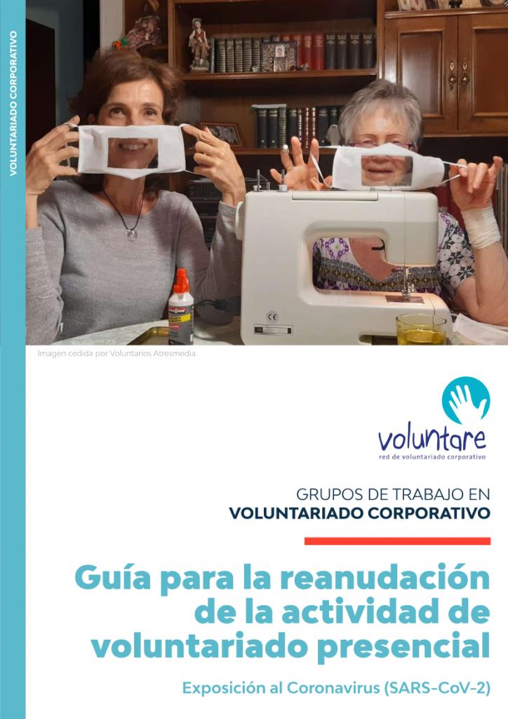 guia seguridad coronavirus covid 19 actividades presenciales voluntariado corporativo voluntare