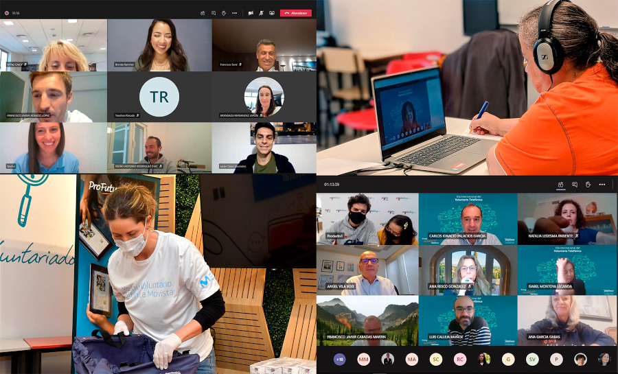dia internacional voluntariado telefonica 2020 voluntariado corporativo digital coronavirus