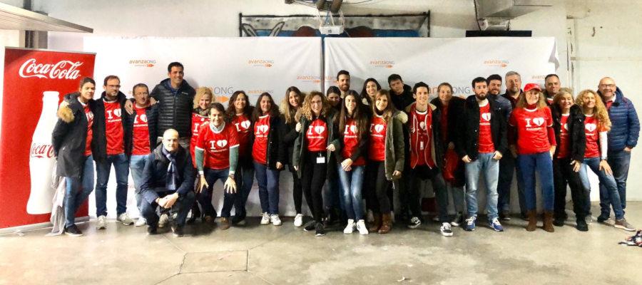 voluntarios coca cola voluntariado corporativo voluntare