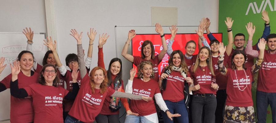 voluntarios edp voluntariado corporativo