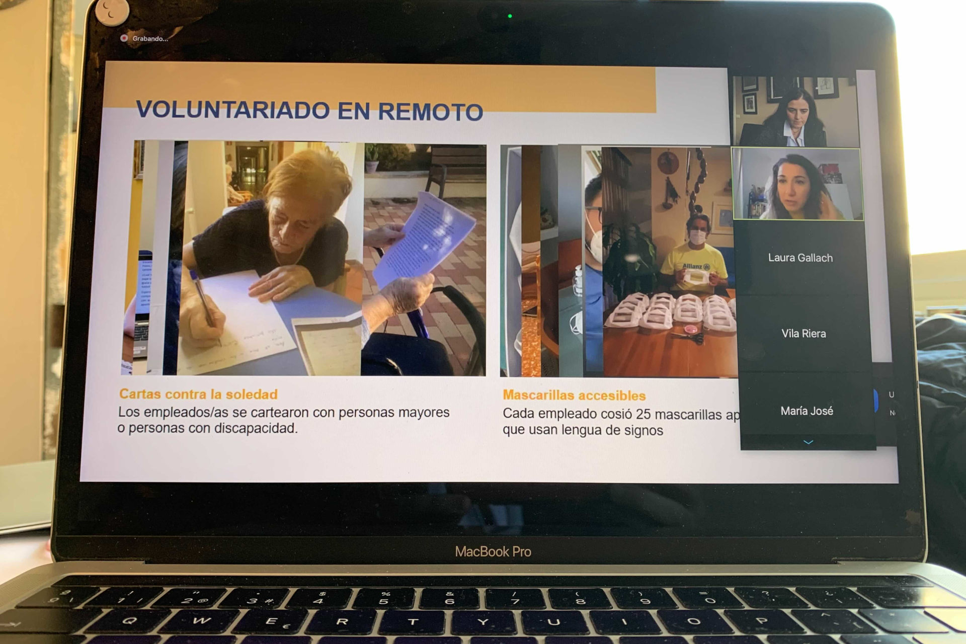 voluntare barcelona jornada voluntariado coronavirus 2020