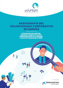 Radiografia del voluntariado corporativo en españa 2020 voluntare asociación voluntarios caixa caixabank