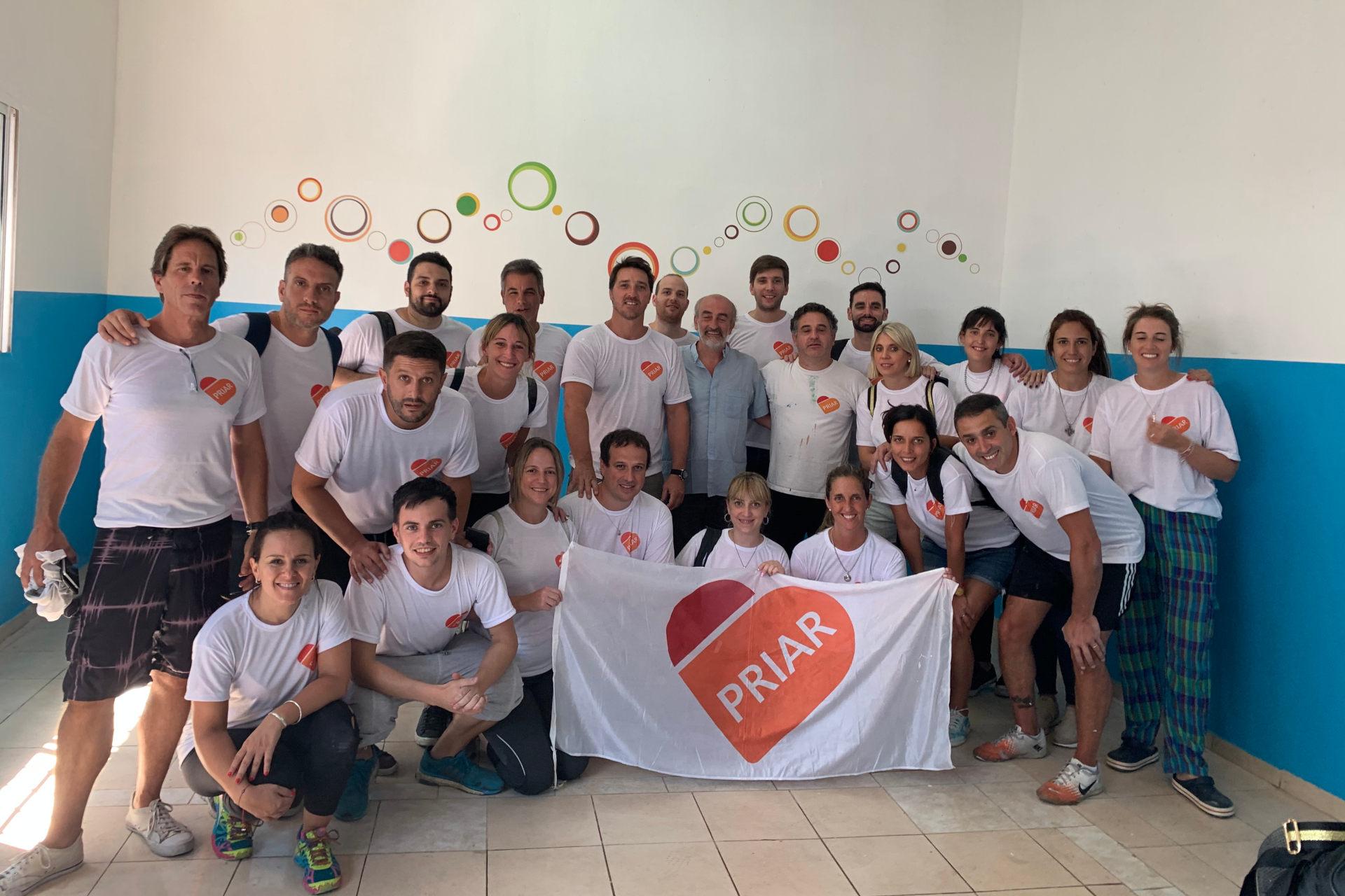 PRIAR 2020 voluntarios banco galicia coronavirus covid