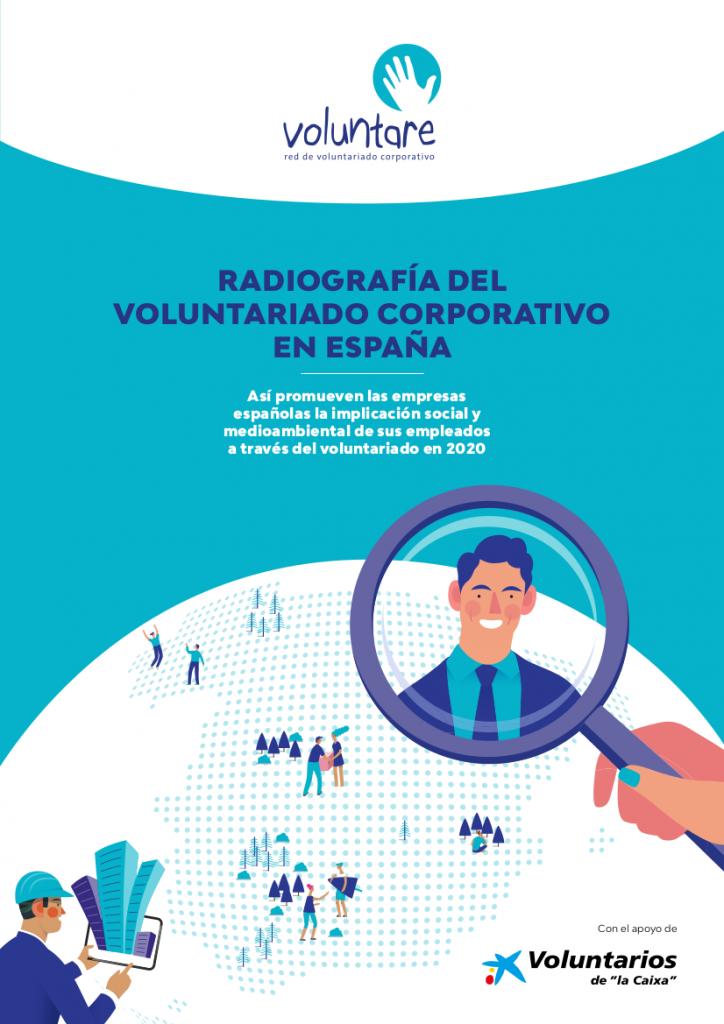 radiografia voluntariado corporativo españa 2020 voluntare asociacion voluntarios caixa caixabank