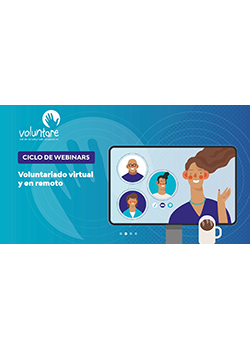 webinar voluntare adaptación covid voluntariado virtual en remoto