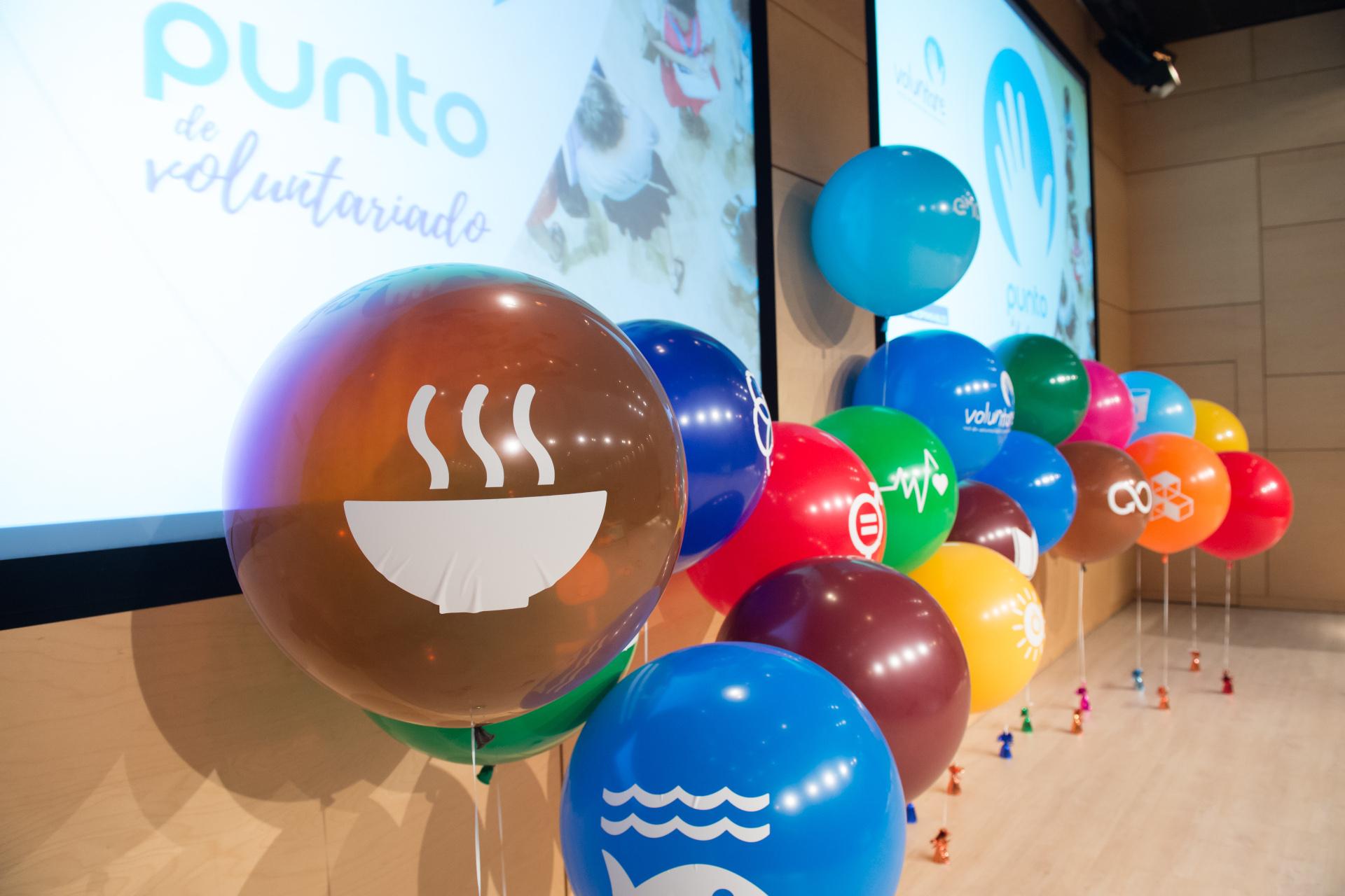 Punto de Voluntariado corporativo de Voluntare. Primera edición celebrada en Endesa en 2019. Segunda edición, la primera virtual, en 2021.