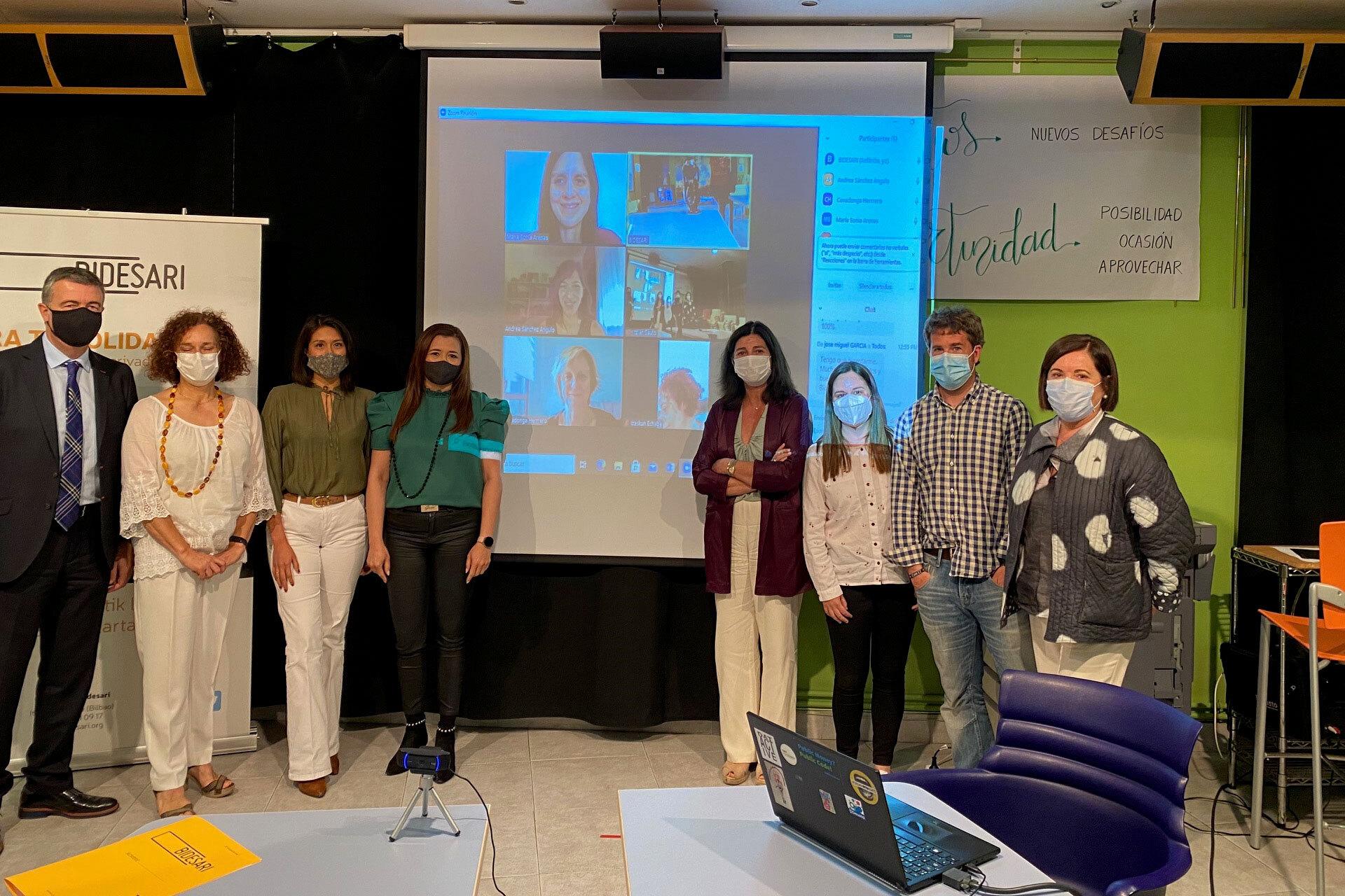 CEBOK voluntariado corporativo pro bono a favor de Bidesari