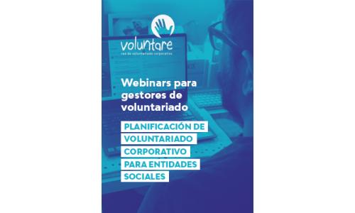 Webinar: Planificación de Voluntariado Corporativo para entidades sociales