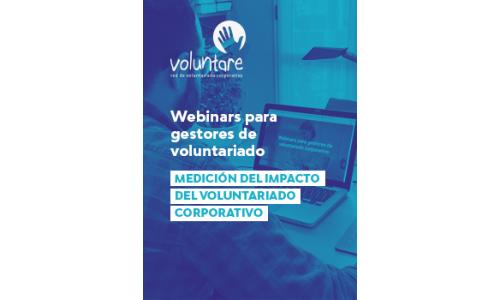 Webinar: Medición del impacto del voluntariado corporativo