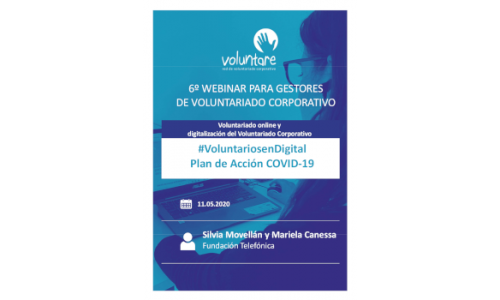 #VoluntariosenDigital,  Plan de Acción COVID-19