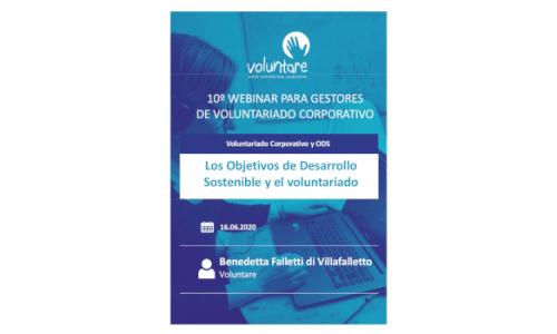 Los Objetivos de Desarrollo Sostenible y el voluntariado