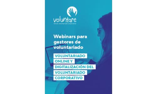 Webinar: Voluntariado online y digitalización del Voluntariado Corporativo