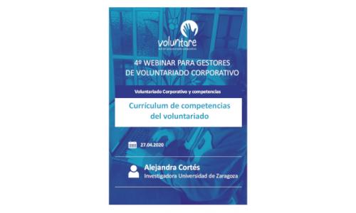 Currículum de competencias del voluntariado