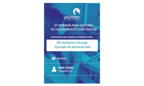 Ejemplo de partenariado: FDI-Solidarios Orange
