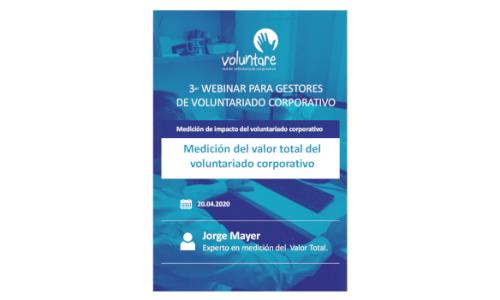 Medición del valor total del voluntariado corporativo