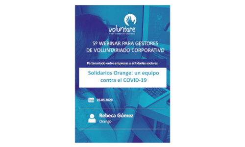Solidarios Orange: un equipo contra el COVID-19