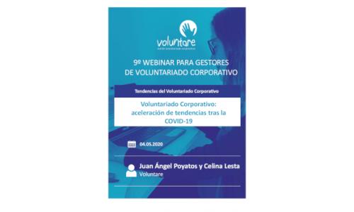 Tendencias de Voluntariado Corporativo: aceleración tras la COVID-19