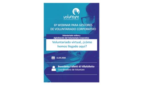 Voluntariado virtual, ¿cómo hemos llegado aquí?